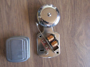 New Vintage Electric Door Bell Stainless Steel Copper Wiring