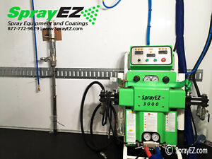 Ez 3000 Spray Foam Trailer Package New Contractor Ready Spray Foam Machine