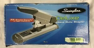 Swingline Deluxe Heavy duty Stapler 160 sheet Capacity 39002 New
