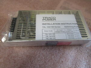 Traco Power Txl100 0512di Dual Output Switch Mode Power Supply