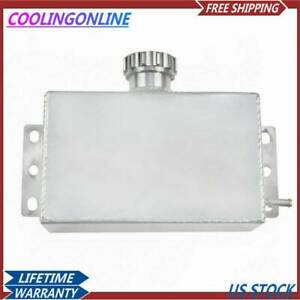 1l 10an Aluminum Radiator Coolant Overflow Tank Bottle Expansion Reservoir Best