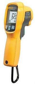 Fluke Infrared Thermometer Laser Sighting Dual 20 To 1202 Temp Range f