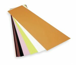 Precision Brand Polyester Shim Stock Sheet Assortment Not Rated Grade