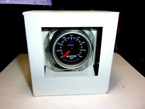 Autometer Mopar Black 2 1 16 Electric Full Sweep Water Temperature Gauge Kit