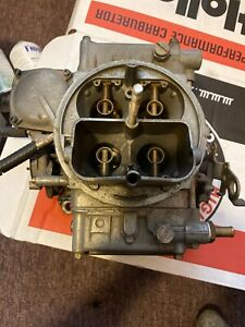 Holley 4160 Carburetor 600cfm Vacuum Sec 90457 2