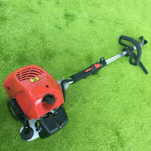 52cc Gas Power Hand Held Sweeper Broom Driveway Turf Artificial Grass Snow Clean