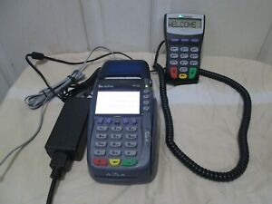 Verifone Omni 5750 Vx570 Credit Card Reader With 1000se Pinpad And Power Supply