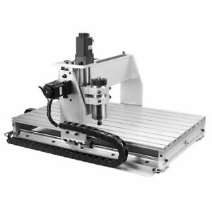Cnc Router Engraver Machine Engraving Drilling 3 Axis 6040 Desktop Usb 1 5kw Vfd