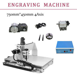 4 Axis Cnc 6040 Router Engraver Milling drill Machine Woodworking Usb Port