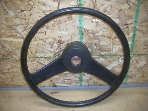Chevy Chevette Steering Wheel W red Letter Horn Button