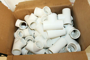 Lot Of 48 1 1 4 Socket Pvc Tee Sched 40