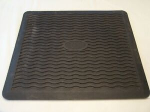 55 64 Chevy 2 Rubber Mats Rear Rat Rod Hot Street Vintage Bel Air 210 150 56