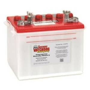 Basement Watchdog Emergency Standby Battery Backup For Sump Pump Water System