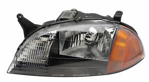 1998 2001 Chevrolet Metro Driver Left Side Headlight Lamp Assembly