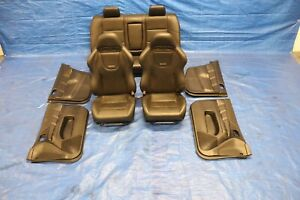 2004 Mitsubishi Lancer Evolution 8 Oem Leather Interior Seats Panels 574