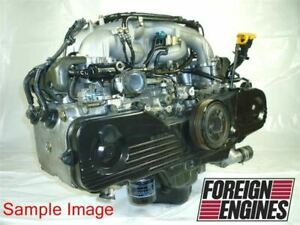 Subaru Motor 1999 Legacy Engine 2 0l Ej20 Replacement For 2 2l Ej22 Jdm