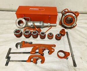 Ridgid 700 Power Drive Set 1 2 To 4 Npt 141 1224 535 300 greenlee rigid