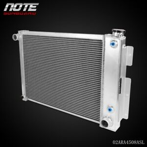 Full Aluminum Radiator For 1967 1968 1969 Chevrolet Camaro Firebird Small Block