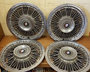 1971 1973 Buick 15 Wire Wheel Cover 1972 1039 Set Of 4