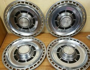 1969 Chevelle 14 Standard Wheel Covers Hubcaps Set Of 4