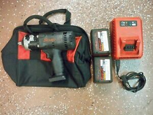 Snap On 18v 1 2 Inch Drive Impact Wrench Kit Lithium Ion Set Ct8850bk Ct8850