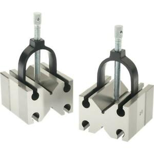 Grizzly H5612 V block Pair W Clamps Side Use