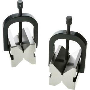 Grizzly H5610 V block Pair W Clamps 2