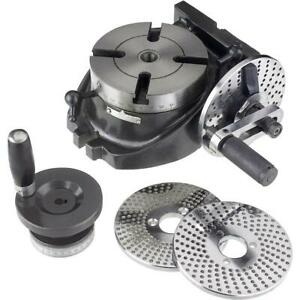 Grizzly H5940 4 Rotary Table W Indexing