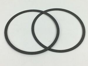 2 Holley Qft Aed Demon Carburetor 4150 4160 Air Cleaner Gasket 046 Thickness