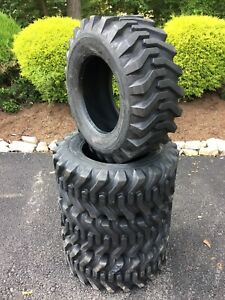 4 New 12 16 5 Skid Steer Tires 12 Ply Camso Sks332 for Bobcat