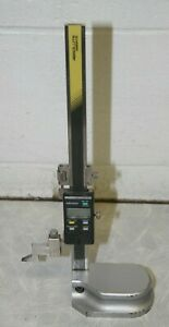 Mitutoyo Digital Height Gauge Hds 8 c 570 244 8 Inch 200mm Used Digimatic Gage