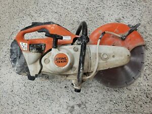Stihl Ts420 Gas Power Handheld 14 Concrete Cut Off Saw With Disc Cutter