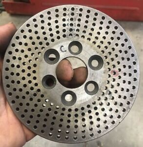 Dividing Head Indexing Plate 37 39 41 43 47 49 3 Bolt Hole Mounting