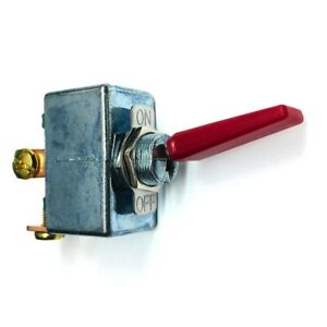 New High Current 50 Amp 12 14 Volt Dc Automotive Spst Red Toggle On off Switch