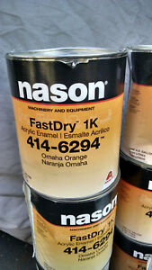 Dupont nason 414 6294vomaha Orange Acrylic Enamel Paint Gallon