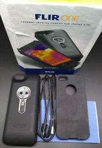 Flir One Thermal Imaging Camera For Apple Iphone 5 5s see The Heat Space Gray