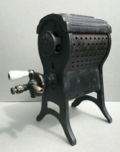 Antique 1920s Lebau 0 Cast Iron Parlor Heater Stove Gas