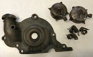 1926 1927 Ford Model T Timing Gear Cover W Cap Misc Timer Parts All Pictured
