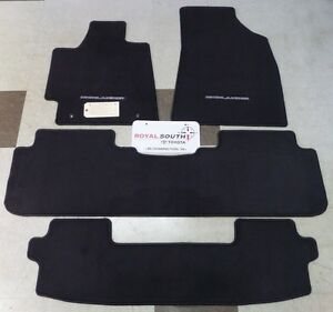 Toyota Highlander 2011 2013 Carpet Floor Mats Set Genuine Oem Oe