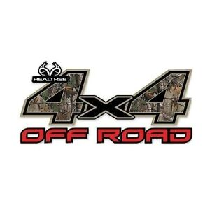 Realtree Xtra 4x4 Decals