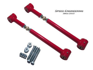 Camaro Firebird Adjustable Lower Control Arms 1993 02 red