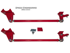 Silverado Sierra Traction Bars 1999 18 standard Axle Position Trucks Red