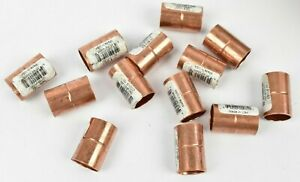 50 Piece Copper Fittings 1 2 Coupling W 61022