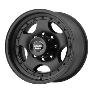American Racing Ar23 Satin Black 15x7 Rims 5x120 65 5x4 75 6 Offset Each