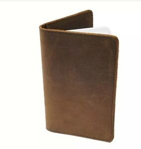 Field Notes Oil Tan Leather Journal Cover Laser Engraved Personalization
