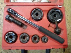 Mechanical Slug out Set With Kw52 Wrench 1 2 In To 2 In Conduit Size