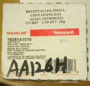 Honeywell T6051a 1016 Heavy Duty Heat cool Thermostat