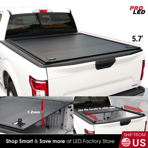 2009 2018 Ram 1500 5 7ft Truck Bed Tonneau Cover Hard Retractable Waterproof