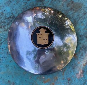 Original 1939 1940 Cadillac Hubcap With New Or Reproduction Center Crest