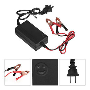 12v Portable Auto Car Battery Charger Tender Trickle Maintainer Boat Motorcycle